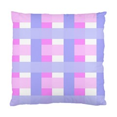 Gingham Checkered Texture Pattern Standard Cushion Case (two Sides)