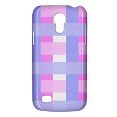 Gingham Checkered Texture Pattern Galaxy S4 Mini by Nexatart