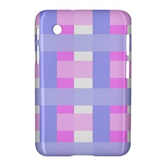 Gingham Checkered Texture Pattern Samsung Galaxy Tab 2 (7 ) P3100 Hardshell Case