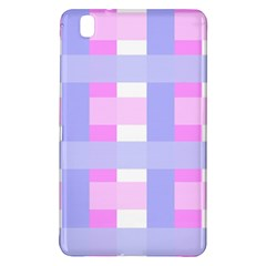 Gingham Checkered Texture Pattern Samsung Galaxy Tab Pro 8 4 Hardshell Case