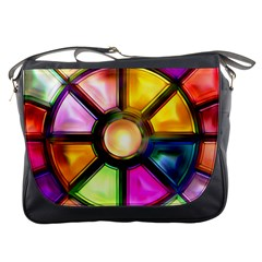 Glass Colorful Stained Glass Messenger Bags
