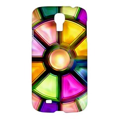 Glass Colorful Stained Glass Samsung Galaxy S4 I9500/i9505 Hardshell Case