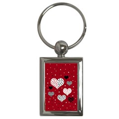 Harts Key Chains (rectangle)  by Valentinaart