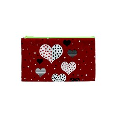 Harts Cosmetic Bag (xs) by Valentinaart