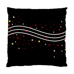 Elegant Abstraction Standard Cushion Case (one Side) by Valentinaart