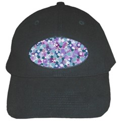 Decorative Bubbles Black Cap by Valentinaart