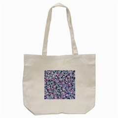Decorative Bubbles Tote Bag (cream) by Valentinaart