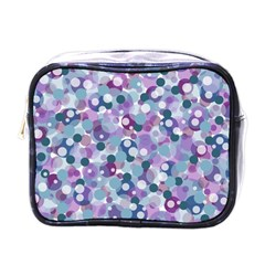 Decorative Bubbles Mini Toiletries Bags by Valentinaart