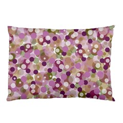 Colorful Bubbles Pillow Case by Valentinaart