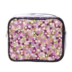 Colorful Bubbles Mini Toiletries Bags by Valentinaart