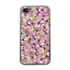 Colorful Bubbles Apple Iphone 4 Case (clear) by Valentinaart