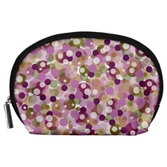 Colorful Bubbles Accessory Pouches (large)  by Valentinaart