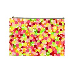 Playful Bubbles Cosmetic Bag (large)