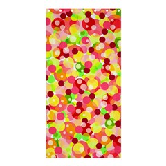 Playful Bubbles Shower Curtain 36  X 72  (stall)  by Valentinaart