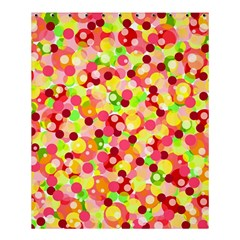 Playful Bubbles Shower Curtain 60  X 72  (medium)  by Valentinaart