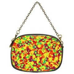 Bubbles Pattern Chain Purses (two Sides)  by Valentinaart