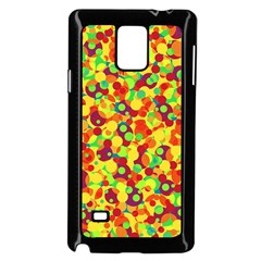 Bubbles Pattern Samsung Galaxy Note 4 Case (black) by Valentinaart