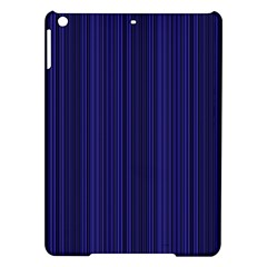 Deep Blue Lines Ipad Air Hardshell Cases by Valentinaart