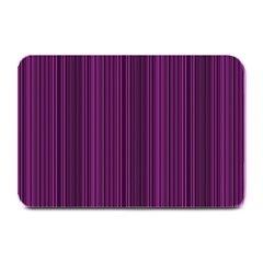 Deep Purple Lines Plate Mats by Valentinaart