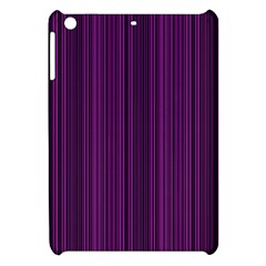 Deep Purple Lines Apple Ipad Mini Hardshell Case