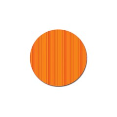 Orange Pattern Golf Ball Marker (10 Pack) by Valentinaart