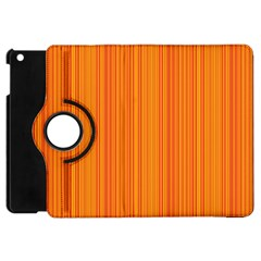 Orange Pattern Apple Ipad Mini Flip 360 Case
