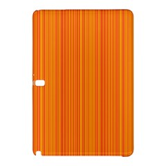 Orange Pattern Samsung Galaxy Tab Pro 10 1 Hardshell Case by Valentinaart