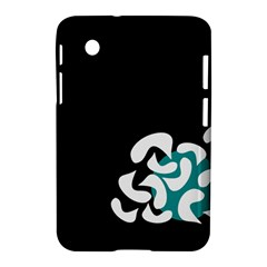 Elegant Abstraction Samsung Galaxy Tab 2 (7 ) P3100 Hardshell Case  by Valentinaart