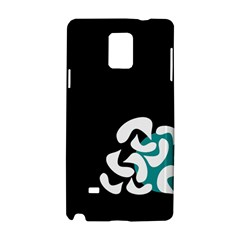 Elegant Abstraction Samsung Galaxy Note 4 Hardshell Case by Valentinaart