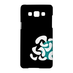 Elegant Abstraction Samsung Galaxy A5 Hardshell Case  by Valentinaart
