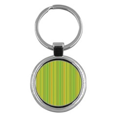 Green Lines Key Chains (round)  by Valentinaart