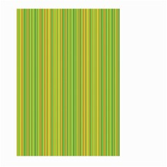 Green Lines Large Garden Flag (two Sides)