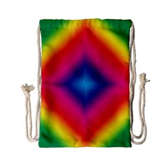 Hippie  Drawstring Bag (small) by Valentinaart