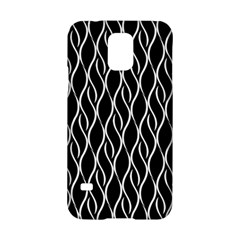 Elegant Black And White Pattern Samsung Galaxy S5 Hardshell Case  by Valentinaart