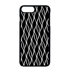 Elegant Black And White Pattern Apple Iphone 7 Plus Seamless Case (black) by Valentinaart