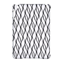 Black And White Elegant Pattern Apple Ipad Mini Hardshell Case (compatible With Smart Cover) by Valentinaart