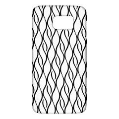 Black And White Elegant Pattern Galaxy S6