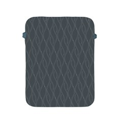 Gray Pattern Apple Ipad 2/3/4 Protective Soft Cases