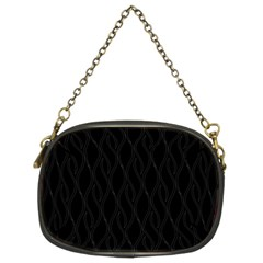 Black Pattern Chain Purses (two Sides)