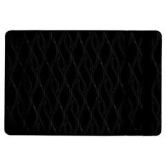 Black Pattern Ipad Air Flip by Valentinaart