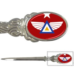 Emblem Of The Myanmar Air Force Letter Openers by abbeyz71