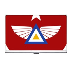 Emblem Of The Myanmar Air Force Business Card Holders by abbeyz71