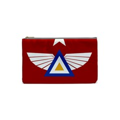 Emblem Of The Myanmar Air Force Cosmetic Bag (small)  by abbeyz71