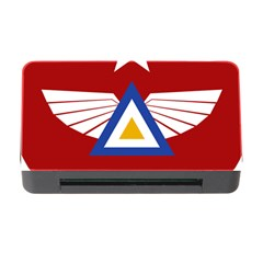 Emblem Of The Myanmar Air Force Memory Card Reader With Cf by abbeyz71