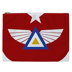 Emblem Of The Myanmar Air Force Cosmetic Bag (xxl)  by abbeyz71