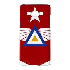 Emblem Of The Myanmar Air Force Samsung Galaxy A5 Hardshell Case  by abbeyz71