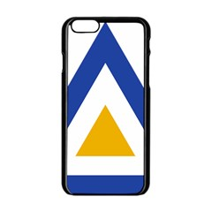 Roundel Of The Myanmar Air Force Apple Iphone 6/6s Black Enamel Case by abbeyz71