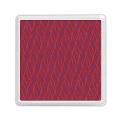 Red Pattern Memory Card Reader (square)  by Valentinaart
