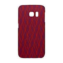Red Pattern Galaxy S6 Edge by Valentinaart