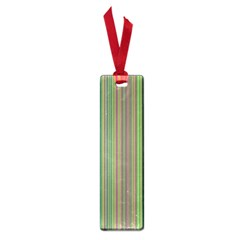 Green Lines Small Book Marks by Valentinaart